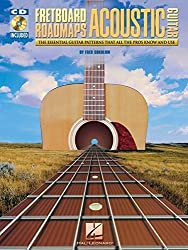 Fretboard Roadmaps for Acoustic Guitar: The Essential Guitar Patterns That All Guitar Patterns That All the Pros Know and Use by Fred Sokolow (2007-08-01)