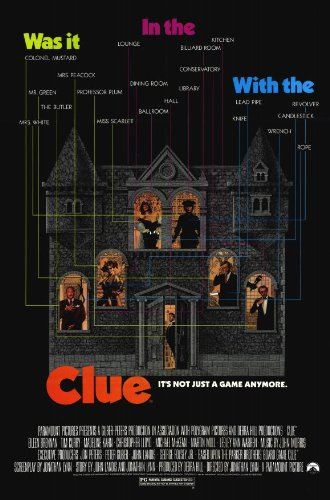 clue-poster-11-x-17-inches-28cm-x-44cm-1985-style-a