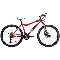 Cloot Bike - Bicicletas Mountain bike 26 - MTB - SL Sport 1.1, 21 velocidades, Horquilla Suspensión, Frenos disco., Talla: de 158 a 171 Bici de montaña