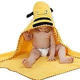 YOUJIA Baby Kleinkinder Kids Bademantel Niedlichen Tier-Form Mit Kapuze Wrap