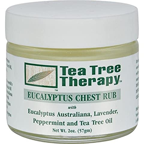 Tea Tree Therapy, Eucalyptus Chest Rub, 2 oz (57 g) by Tea Tree Therapy