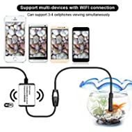 3.5m Wifi Endoscope Borescope Inspection Snake kamera für iPhone Android iOS