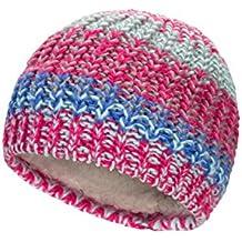 Mountain Warehouse 025523 Plaited Fleece Lined Knitted Kids Beanie Rosa Talla única