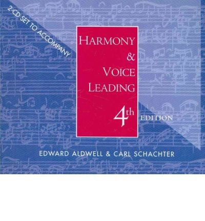 Audio CD-ROM for Aldwell/Cadwallader's Harmony and Voice Leading, 4th (Other digital) - Common