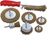 Am-Tech Wire Brush (7 Pieces)