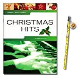 Really Easy Piano- Christmas Hits mit Smiley-Bleistift [Noten/sheet music]