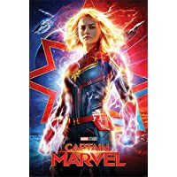 Close Up Captain Marvel Poster Higher, Further, Faster (61cm x 91,5cm)