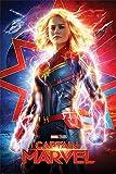 Close Up Póster Captain Marvel - Higher, Further, Faster (61cm x 91,5cm) + 1 póster Sorpresa de Regalo