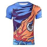 CoolChange T Shirt de Super Saiyajin, Talla: XL