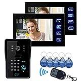 SYSD LCD Bildtelefon mit IR Kamera Codetaster SY806MJIDS12
