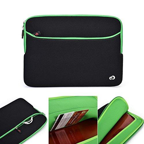 Kroo schwarz Neopren Laptop Schutzhülle/Sleeve für Dell Latitude 153540/E6540/E5550/XPS 15Notebook PC passt 38,1cm 15,6