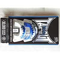 Tapout Fang Mouthguards | Pack of 2 | Blue & White | Size: Youth