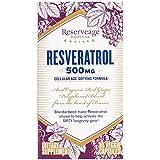 Reserveage Organics - Resveratrol 500 mg - 30 Capsules Végétales