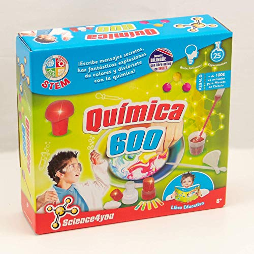 Science4you - Química 600 - Juguete científico educativo