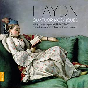 Haydn Quartets (10 CD set) by Quatour Mosaiques (2013) Audio CD