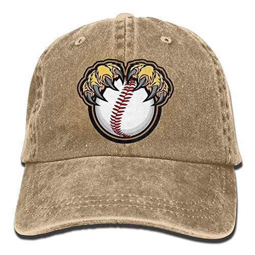 Hat Lion Claws Baseball Denim Skull Cap Cowboy Cowgirl Sport Hats for Men Women Cowgirl Cadet Cap