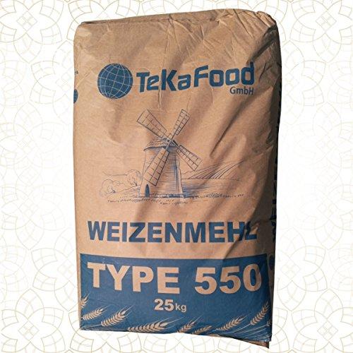 Weizenmehl TeKa 550 FR - 25 Kg