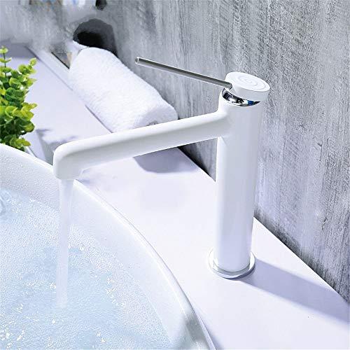 MVW Dumm, Weiß, Kupfer, Chrom, kalt, kalt, heiß, offenen Wasserhahn Spray Badezimmer tippen, weiße Badezimmer Waschbecken Mischbatterie Waschbecken Armaturen Waschbecken Tippen Badezimmer Waschtisch