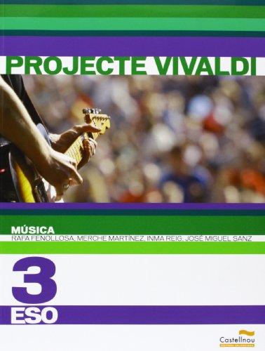 Música 3r ESO. Projecte Vivaldi (Libros de texto) - 9788483452318