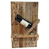 Palettenmöbel Flaschen-/Wein-Regal