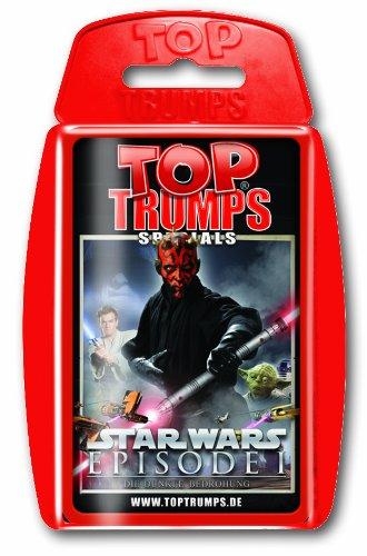 Winning Moves 61793 Top Trumps - Star Wars Episode I, Trumpfspiel