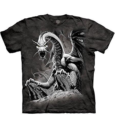The Mountain - - Männer Black Dragon T-Shirt, 4X-Large, Multi (Western Shirt 4x)