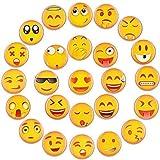 Emoji Calamite Magneti Frigo 25PCS Smily Fridge Magnets Decorazione Frigorifero da Cucina Lavagna per Ufficio ecc Superfici Metalliche e Magnetiche La Scelta Migliore per i Regali (Magneti 25 emoji)