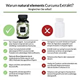 Curcuma Extrakt Kapseln - Vergleichssieger 2019* - Curcumingehalt EINER Kapsel entspricht dem von ca. 10.000mg Kurkuma - Hochdosiert aus 95% Extrakt - Laborgeprüft und hergestellt in Deutschland - 2