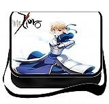 Fate Zero Bromeo Fate/Stay Night-Borsa a tracolla in tela, borsa Messenger, Zaino per scuola#23