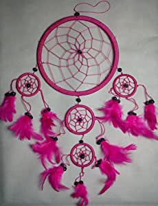 PINK DREAM CATCHER DREAMCATCHER BEAUTIFUL ITEM FOR YOUR HOME OR GIFT OTHER COLOURS ARE AVAILABLE
