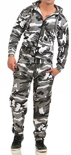 92G2 Game Herren Jogginganzug Camouflage Anzug Set Army Urban Gr 5XL