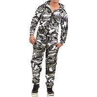 Game Herren Jogginganzug Camouflage Anzug Set Army Sportanzug Trainingsanzug