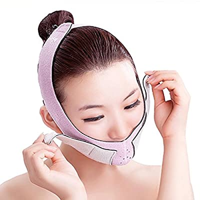 MagiDeal Double Chin Thin Slim Band, Cheek Lift Up Mask, Facial Massage Masseter Slim Belt, V Face Shaper from MagiDeal