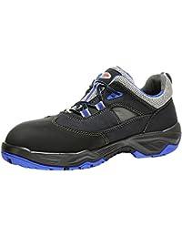 MTS mesd Unisex Zapatilla de Seguridad Zapato de Trabajo (Jaguar S1ESD, Alcance 12, Color Negro, Talla 43