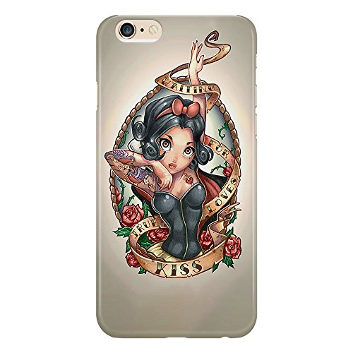 Cover Custodia Protettiva Biancaneve Sette Nani Principessa Cartoni Animati Diesgno Tatuaggio Tattoo Drw Illustration Design Case Iphone 4/4S/5/5S/5SE/5C/6/6S/6plus/6s plus Samsung S3/S3neo/S4/S4mini/
