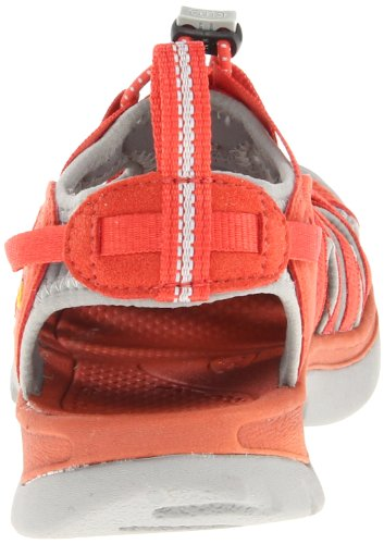 Keen  WHISPER W-BOSSA NOVA/NEUTRAL GRAY, sandales femme Rouge - Red - Rot (BOSSA NOVA/NEUTRAL GRAY)