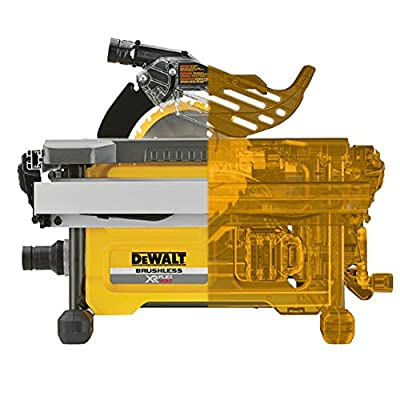 Dewalt Cordless circular table saw, 54 V FLEX V/Charger QTY: 1