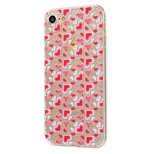 iPhone5/5S/5SE Fall, xinyiyi stoßfest Soft Shell Langlebige iPhone5/5S/5SE kratzfeste TPU Handy Fall Little love