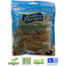 KARIBBEAN FLAVOURS Musgo irlandés súper - (5 pack) wildcrafted - NO OGM - vegana
