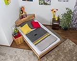 Futonbett/Massivholzbett Wooden Nature 03 Kernbuche geölt - Liegefläche 120 x 200 cm (B x L)