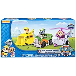 Paw Patrol 6026092 Racers 3-Pack Vehicle Set