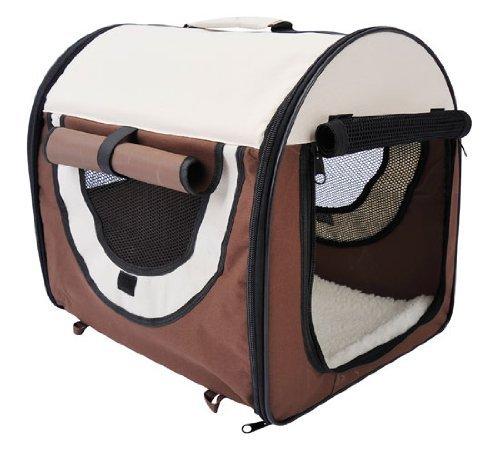 PawHut Stabile, faltbare Transporttasche für kleine Hunde, Welpen, Katzen und andere Kleintiere! Größe S