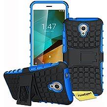Vodafone Smart Prime 7 Funda, FoneExpert® Heavy Duty silicona híbrida con soporte Cáscara de Cubierta Protectora de Doble Capa Funda Caso para Vodafone Smart Prime 7