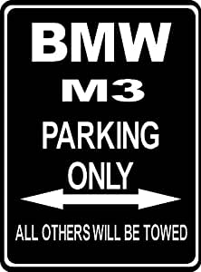 Custom Parksign Parking Only BMW M Parking Lot Sign ALL - Bmw parking only signs