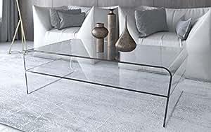 glascouchtisch f r b ro oder wohnzimmer mit schr gen. Black Bedroom Furniture Sets. Home Design Ideas