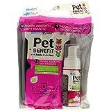 Pet Benefit Kit Bain 12chiffons + Mousse