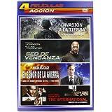 Pack Acción 3: Invasión A La Tierra, Sed De Venganza, El Señor De La Guerra, International Dinero En La Sombra