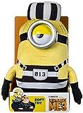 Despicable Me 9077b 'DM3Cárcel Minion Mel' de peluche (tamaño mediano)