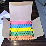 Dustless Chalks Assorted Colours 100 pcs (Pack of 1)
