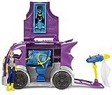 DC Super Hero Girl - DVG94 - Voiture Batgirl - Quartier Général